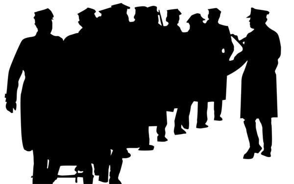 grup-oameni-alb-negru
