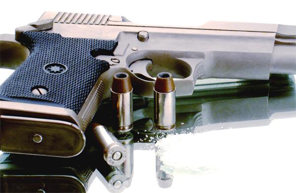 pistol-gloante