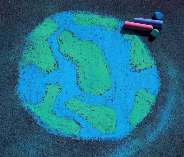 glob-pamantesc-desen-asfalt