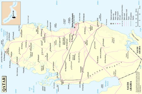 harta-qatar