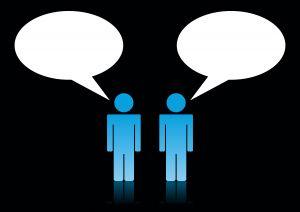 discutie-convorbire