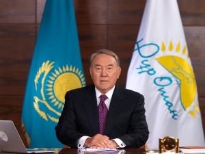 Nurly Zhol Presedinte Nursultan nazarbayev