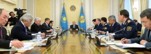 Presedintele Nursultan Nazarbayev lanseaza Programul CINCI REFORME