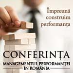Conferinta Managementul Performantei in Romania - 2016