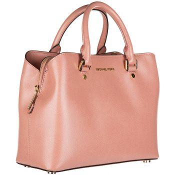 Geanta de mana roz de la marca Michael Kors, model Purse Savannah