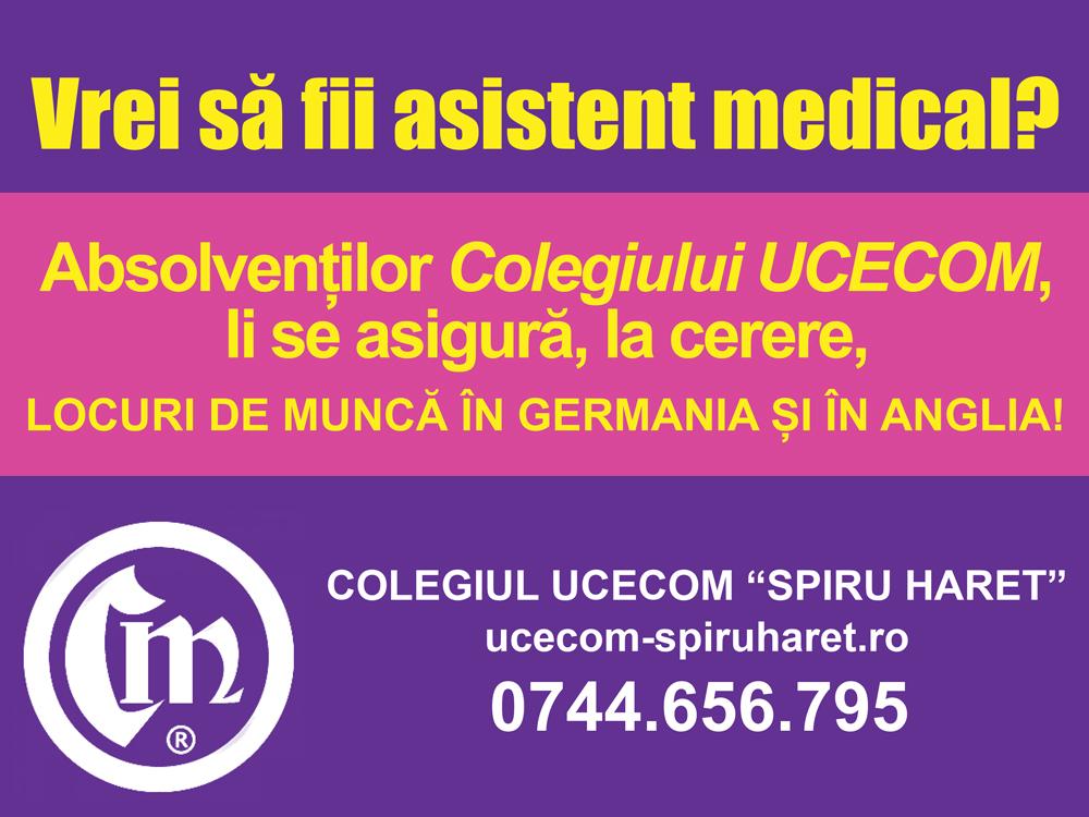 Ucecom asistent medical