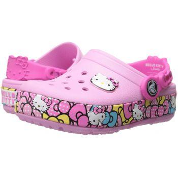 Saboti Crocs Crocslights de culoare roz pentru copii in colectia ShopAlert.ro