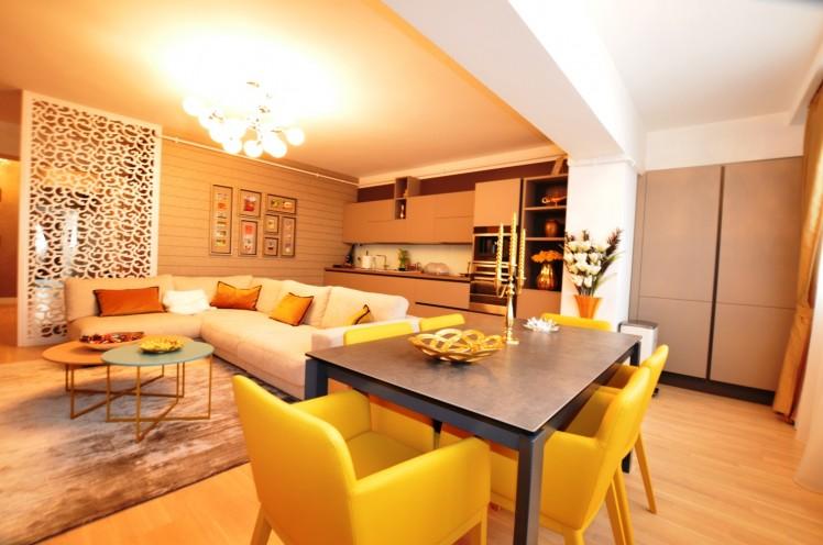 Un alt apartament cu 3 camere, in zona Herastrau - Satul Francez din Bucuresti, 146 mp, de vanzare pe site-ul agentiei imobiliare Regatta