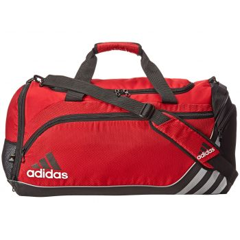 Geanta de voiaj rosie Adidas Team speed duffel medium university de barbati