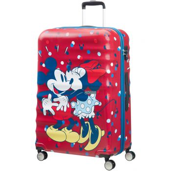 Geanta de voiaj Smerican Tourister Minnie loves Mickey de dama pe Gentuim